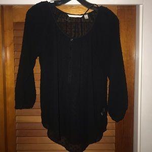 Women's black, size small blouse!